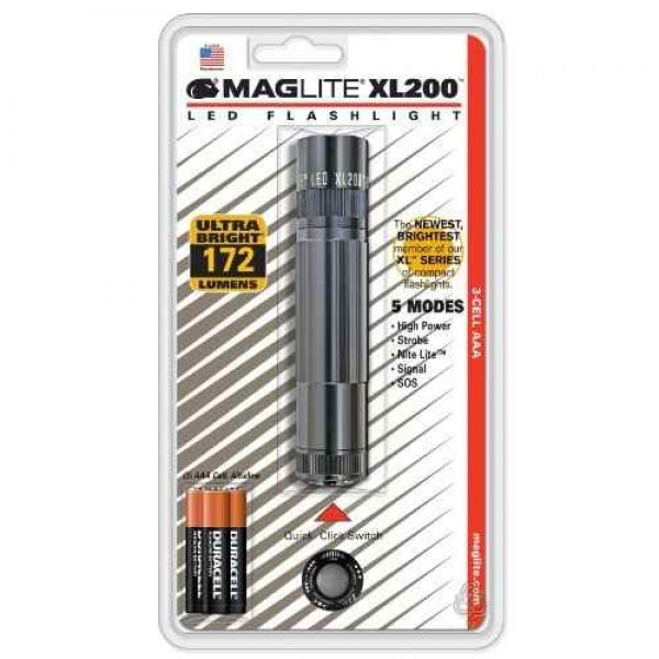 Maglite LED Lommelygte XL200