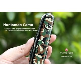 Victorinox Lommekniv Model Huntsman Camouflage - Victorinox Schweizerkniv