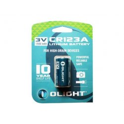 Olight Lithium Batteri CR123A 3.0v