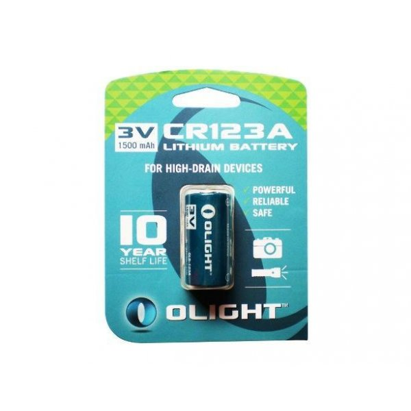 Olight Lithium Batteri Type CR123A