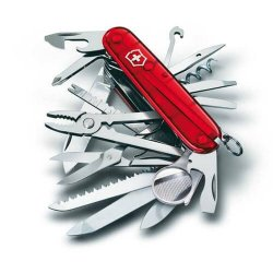 Victorinox Lommekniv - Swiss Champ Transparent