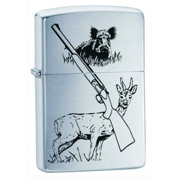 Zippo Lighter Model Hunting Game - Zippo Benzin Lighter