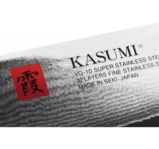 Kasumi Japansk Grøntsagskniv (Japansk Nakiri med ståltype V-GOLD-10)