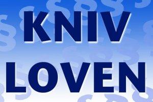 Proforma lempelse af knivloven i Danmark i 2016