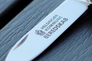 Lommeknive som firmagave med jeres eget firma logotryk