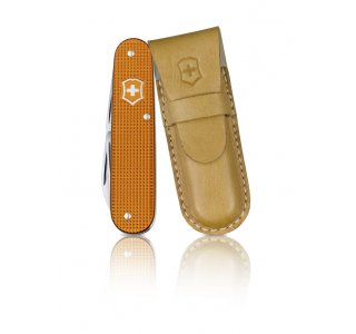Victorinox Cadet Alox Orange Limited Edition m/læder etui