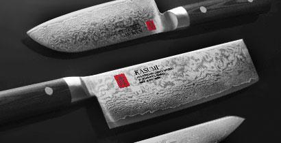 Japanske Kasumi Køkkenknive med logoet Kasumi