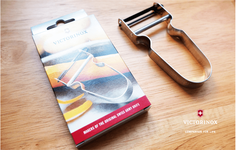 Victorinox Kartoffelskræller REX - Schweizisk Rustfrit Stål Box