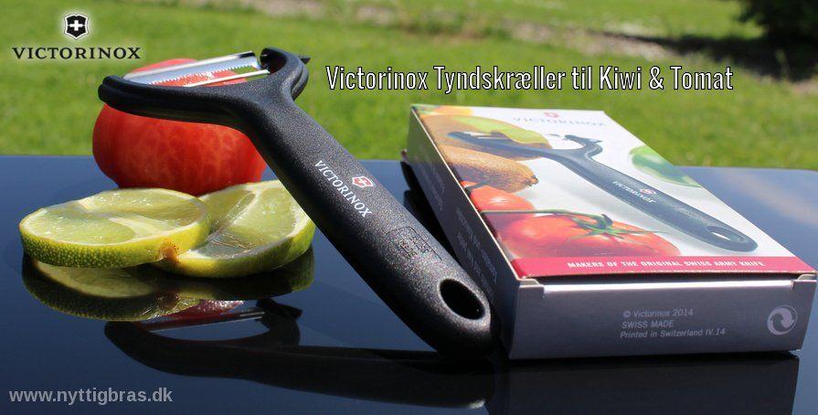 Victorinox Tyndskræller til Kiwi & Tomat udenfor sommeren 2016