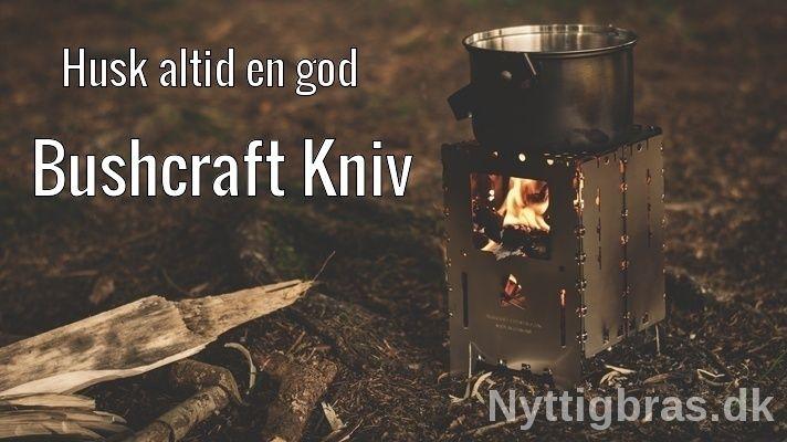 bushcraft knive og camping