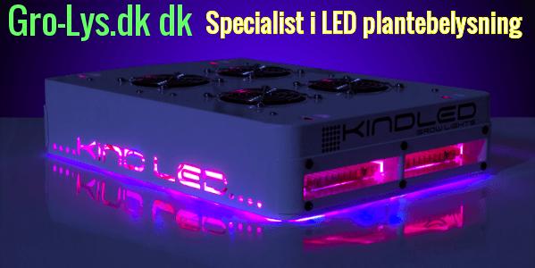 Visning af LED plantebelysning hos Gro-lys.dk