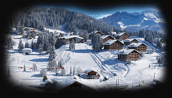 Vinter hippie kultur i schweiz