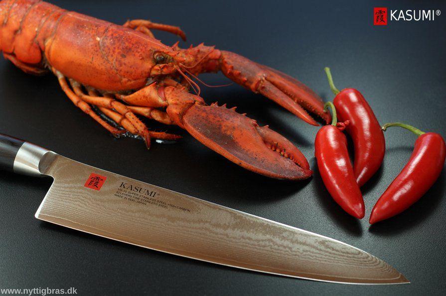 Kasumi Japansk Kokkekniv med hummer