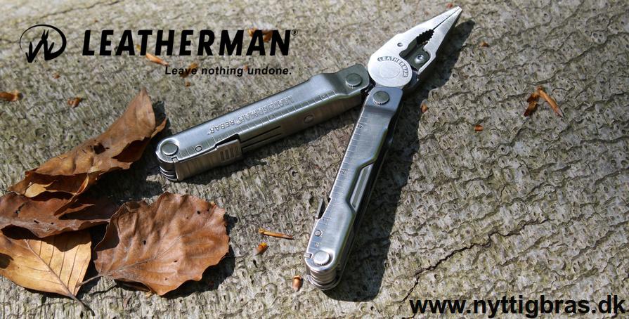 Leatherman Multitool Rebar Steel medbragt ude i skoven 2016