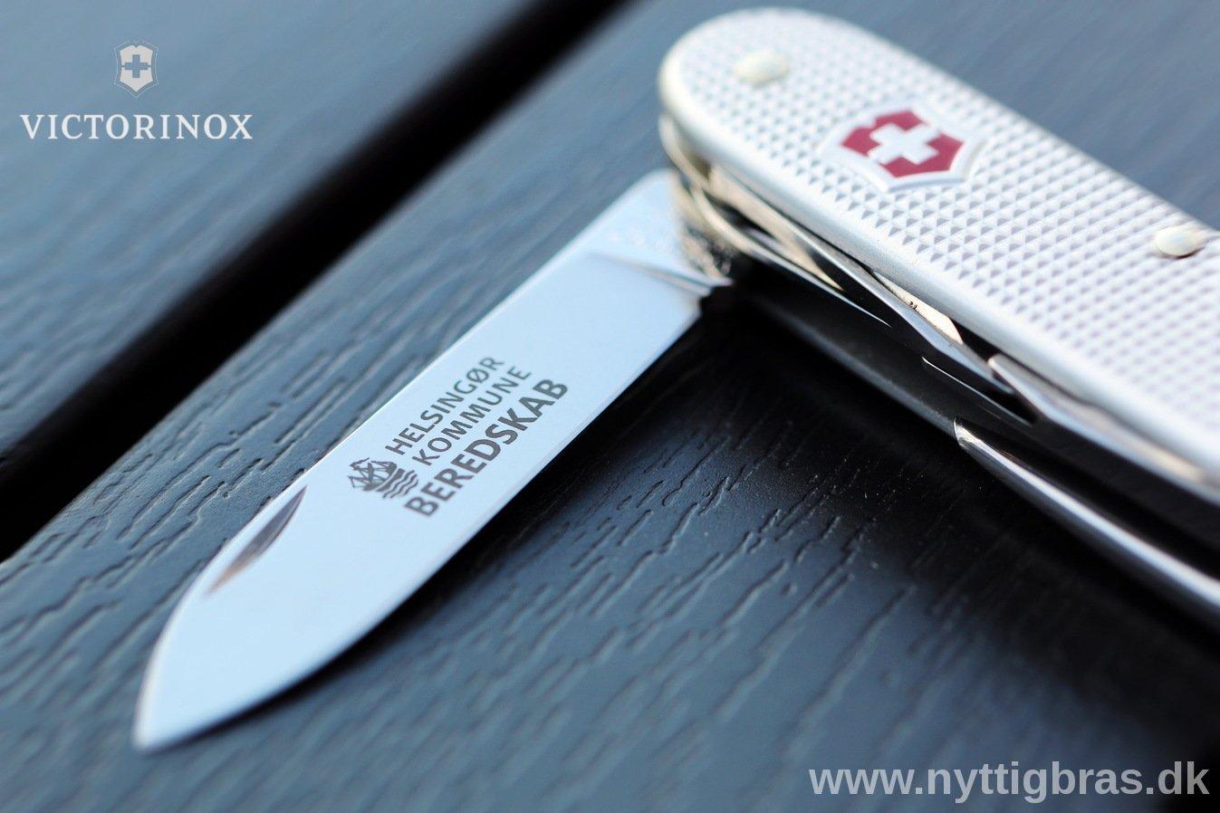 Lommekniv med firma logotryk hos Nyttigbras.dk