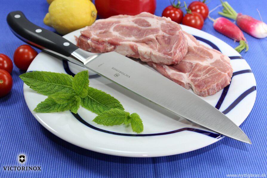 Victorinox Grand Maitre Helsmedet Kokkekniv med kød 2016