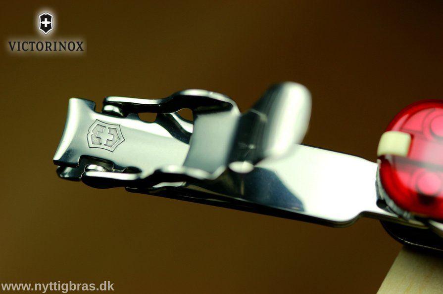 Makro Foto af Victorinox Lommekniv NailClip 580