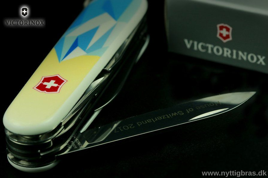 Portræt af Victorinox Fieldmaster House of Switzerland 2017 Limited Edition