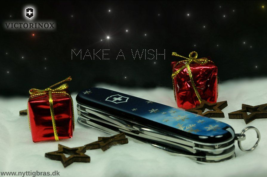 "Victorinox ""MAKE A WISH"" CLIMBER LIMITED XMAS EDITION 2016"
