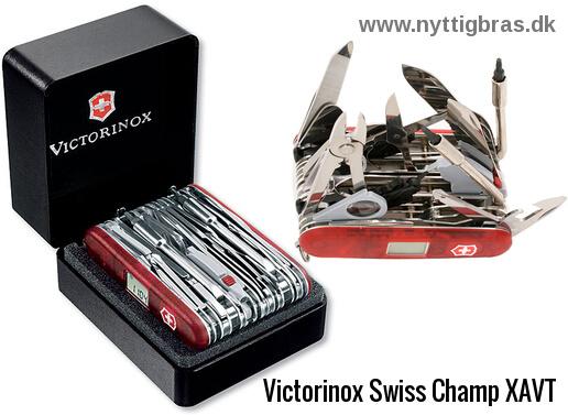 Gigantisk Schweizerkniv Swiss Champ XAVT fra Victorinox